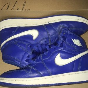Retro Jordan 1 (USED) Blue Colorway